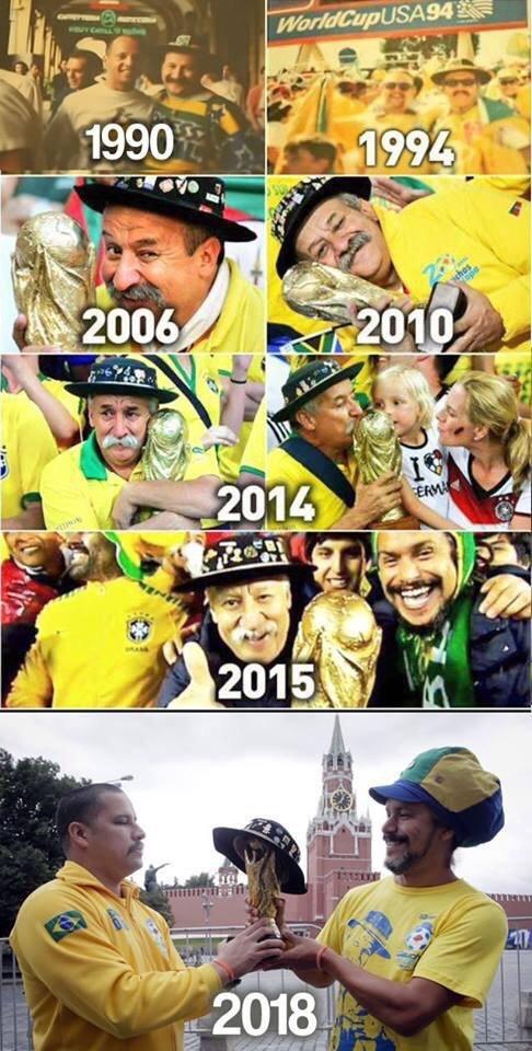 Тот самый болельщик... Чемпионат мира по футболу, Бразилия, Болельщики