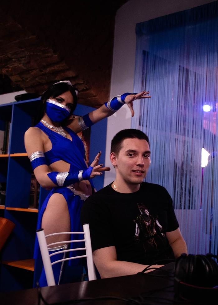 Косплей Китаны Косплей, Mortal Kombat x, Длиннопост, Китана