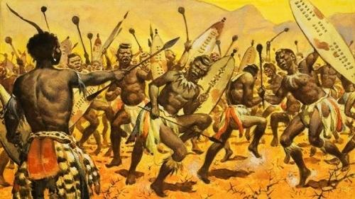 Поражение англичан у Изандлваны Африка, Англичане, Великобритания, Зулусы, Война, Поражение, Длиннопост, История
