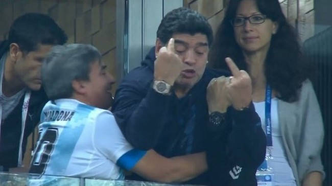 Диего Марадона Чемпионат мира по футболу 2018, Аргентина