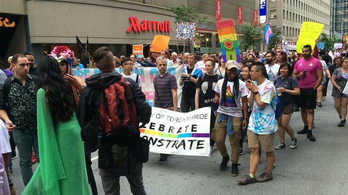 Гей-Парад в Торонто, часть 1 (Трансгендеры) Лгбт, Геи, Транс, Трансгендеры, Торонто, Канада, Америка, Иммиграция, Видео, Длиннопост