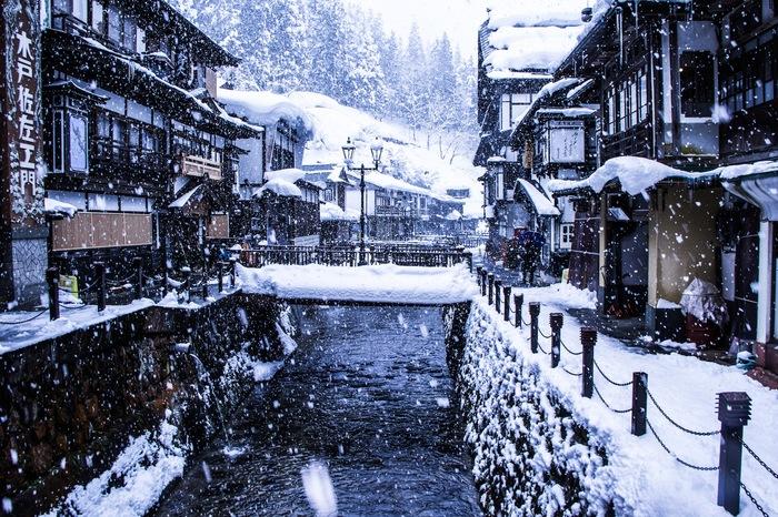 Гиндзан-Онсэн: горячие источники в Японии Япония, Путешествия, Горячие источники, Длиннопост