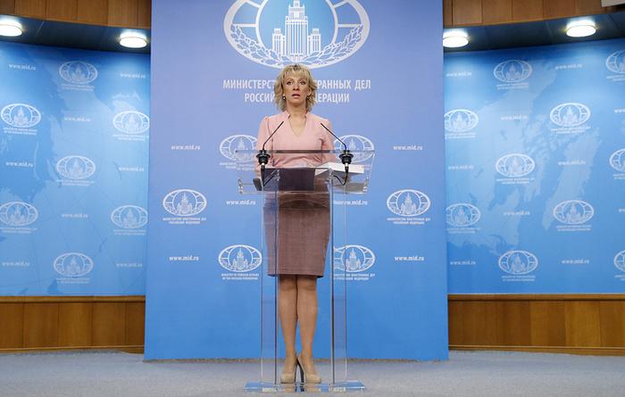 Россия призывает спортивные организации отказать СШАвправе проводить соревнования Политика, Спорт, США, Россия, Захарова, МИД РФ
