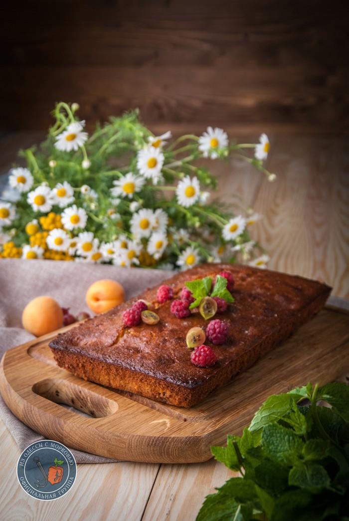 """""""Черешневый пирог с вином и кардамоном"""" Литературная кухня, Из Одессы с морковью, Кулинария, Еда, Рецепт, Длиннопост, Фотография"""