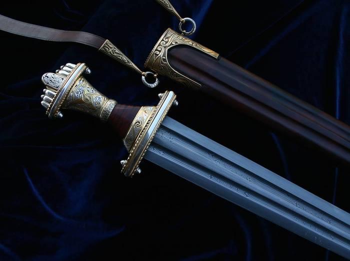 Технология изготовления мечей Меч, Оружие, Технология изготовления, История, Железо, Сталь, Катана, Мечи викингов, Видео, Длиннопост