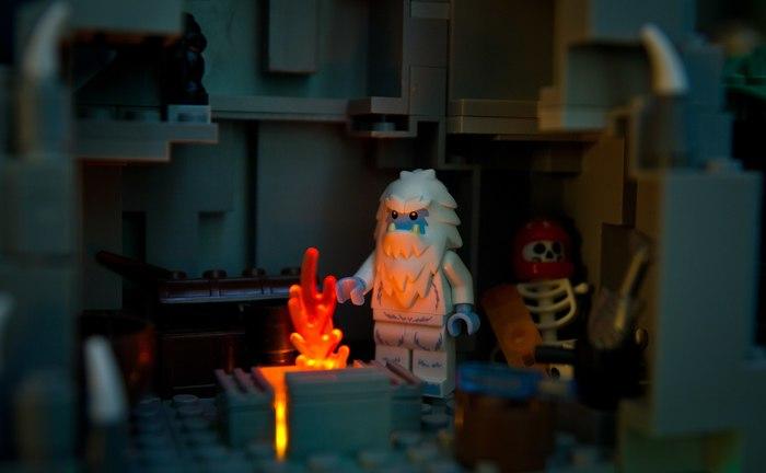 Как я с конструктором возился Конструктор, Lego, Игрушки, Диорама, Фотография, Свет, Лего кубики, Длиннопост