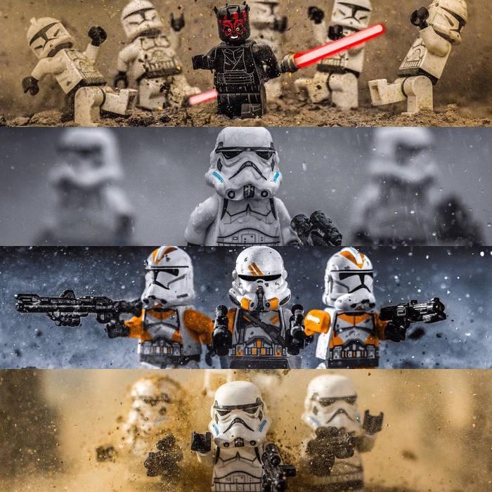 LEGO тоже может быть эпичным! Арт, Фотография, Фото в, Lego, Лего звездные войны, Длиннопост