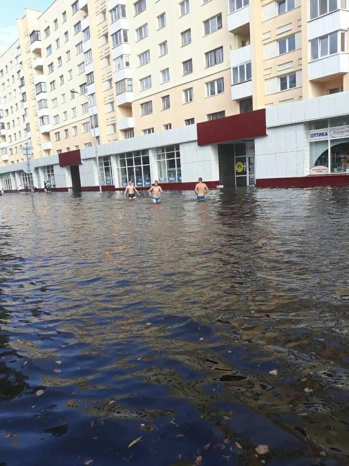 Брест готов к 1000-летию Брест, Потоп, Хорошая погода, Беларусь