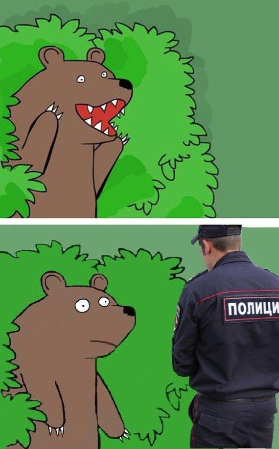 из мем шлюха кричащий кустов медведь