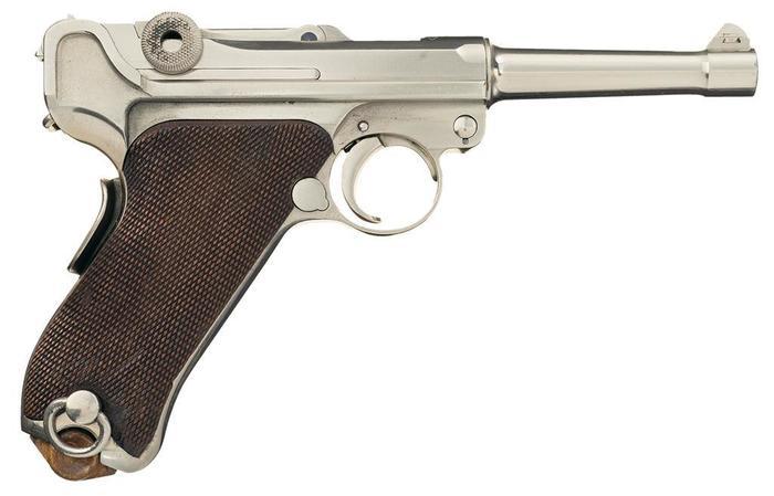 Болгарский Люгер Оружие, парабеллум, люгер, пистолеты, длиннопост