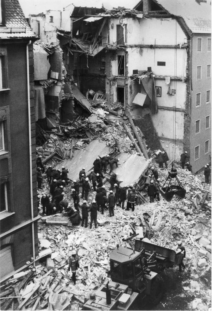 Катастрофа на Schluesselfelderstrasse Германия, Нюрнберг, Взрыв, Катастрофа, Дом, Длиннопост