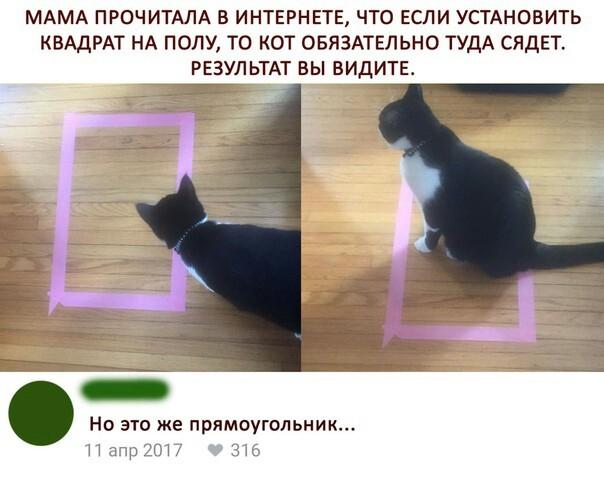 Неправильный квадрат