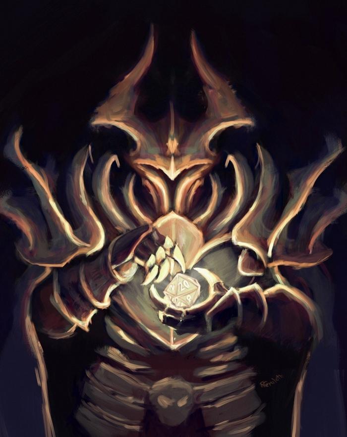 Темный лорд с дайсом [Тизер] Neruloth, Dice, Настольнаяигра, Новое, Темное фэнтези