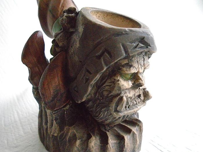Трубка Warcraft Warcraft, ГулДан, Wow, World of Warcraft, Pipe, Длиннопост, Трубка, Курительная трубка