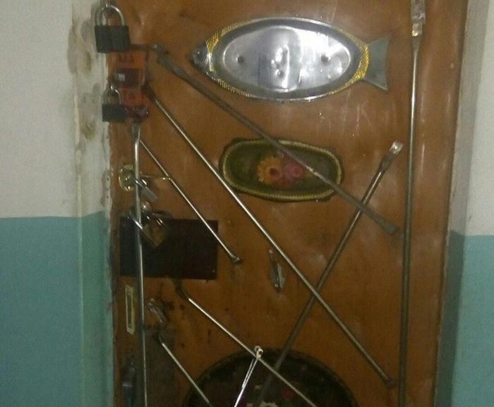 Дверь в квартиру челябинца Общество, Челябинск, Социальные сети, Безопасность, Дед, Ridus, Дверь, Добро
