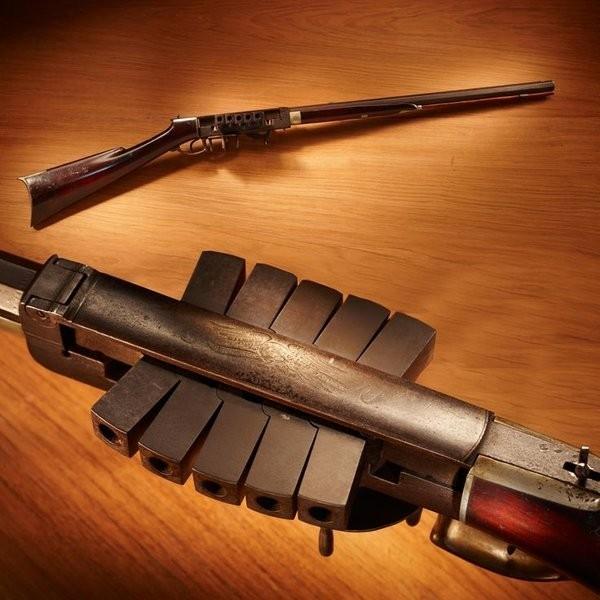 Многозарядная винтовка Bennett & Haviland Редкое и необычное оружие, Винтовка, История, Длиннопост