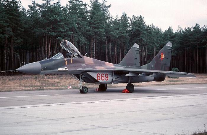 МиГ-29 Миг-29, ГДР, ВВС ГДР, Авиация, Фотография