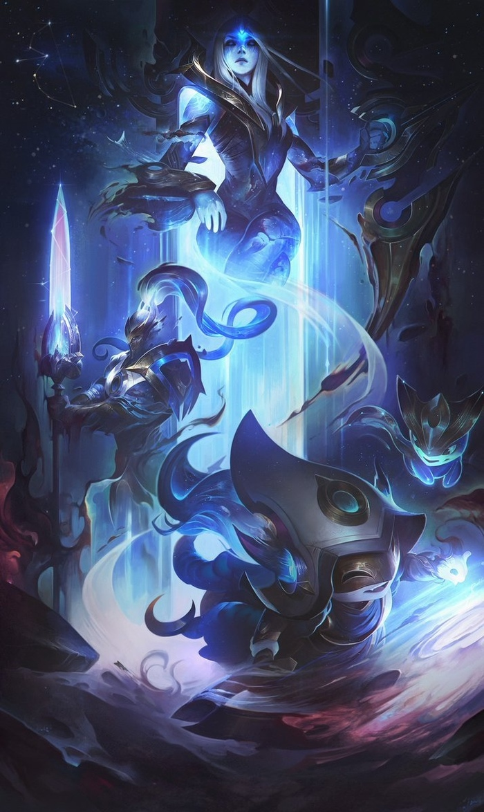 League Of Legends Art Арт, League of Legends, Длиннопост, Ashe, Lulu, Xinzhao