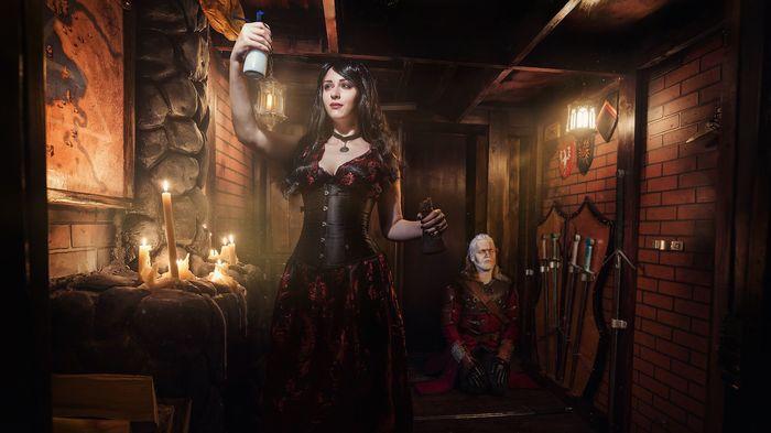 Квест по Ведьмаку открыт Кай Йара, Ведьмак, Квест, Квесты в реальности, Крафт, Декор, Бутафория, Фотография, Длиннопост