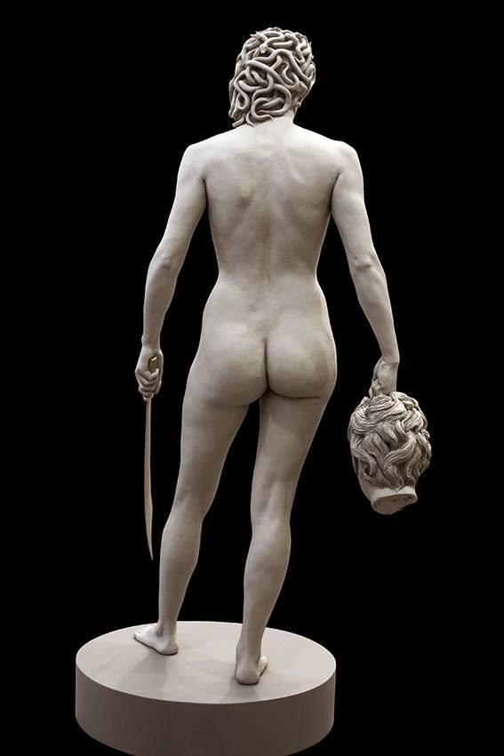 Альтернативная Вселенная Скульптура, Горгона, Персей, Вот это поворот, Длиннопост