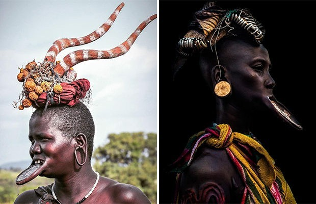 Необычная красота девушек племени Мурси Мурси, Красота, Племя, Длиннопост