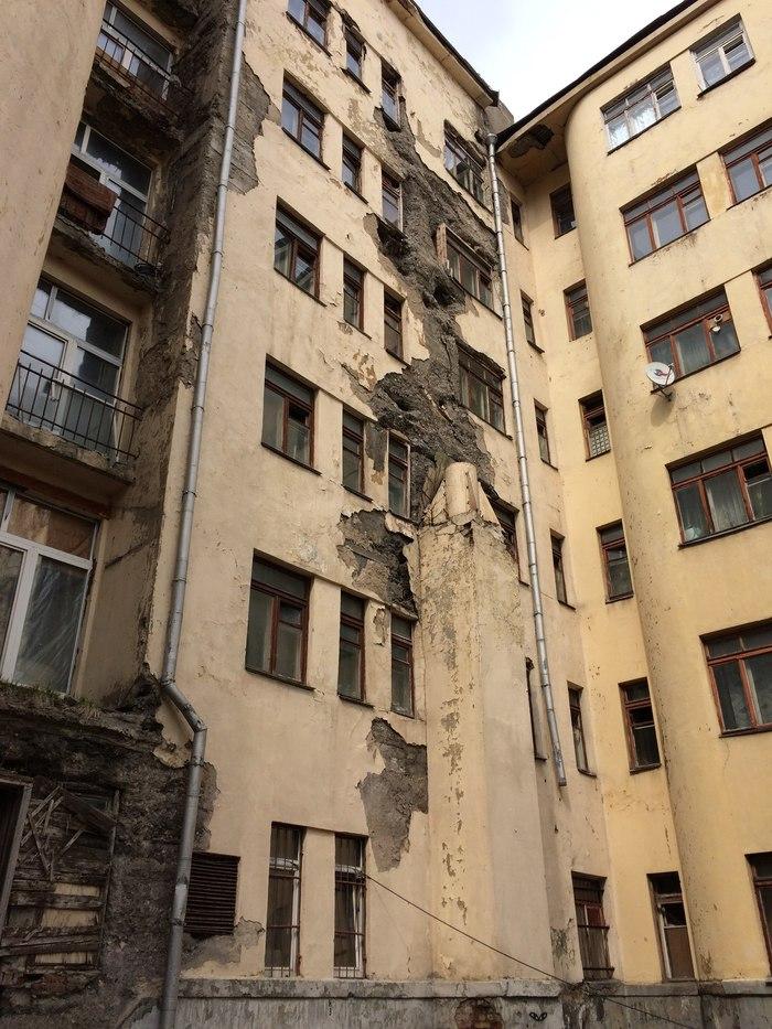 Трущобы под крылом у МО Москва, Трущобы, Общежитие, Разруха, Архитектура, Длиннопост