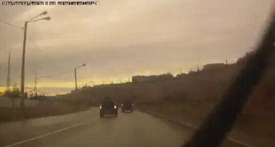 You shall not pass #2 ДТП, Мурманск, Ты не пройдешь, Занесло, Столб, Гифка, Видео