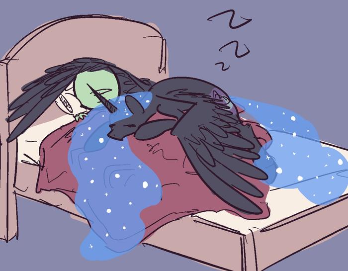 Спокойной ночи My little pony, Anon, Nightmare Moon