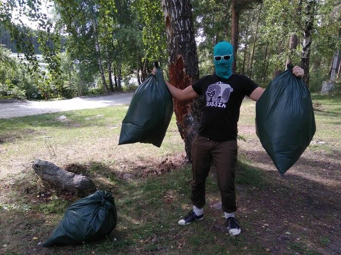 Убрал 600 литров мусора в реликтовом лесу. Чистомен, Миасс, Видео, Длиннопост