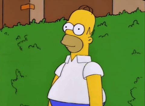 Как бы выглядел Гомер Симпсон в реальной жизни: впечатляющее фото - отМигеля Васкеса Гомер в реале, Гомер нарисованные, Мигель, Гифка, Длиннопост