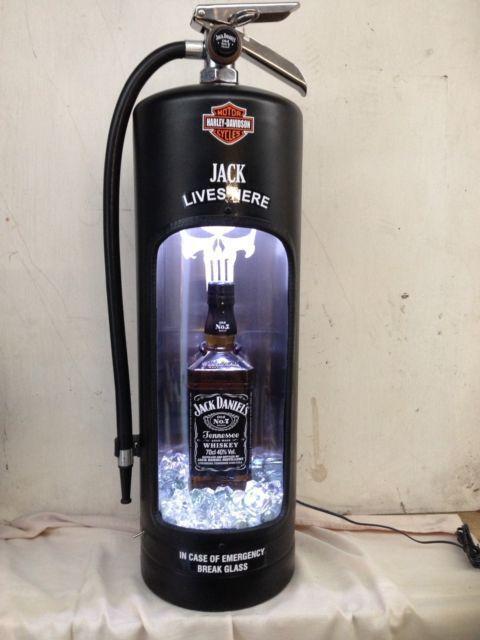 """Огнетушитель"" Огнетушитель, Jack Daniels, Виски, Harley-Davidson, The Punisher, Фотография"