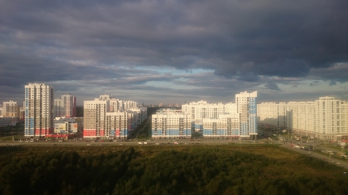 Небо Екатеринбурга Небо, Новостройка, Екатеринбург