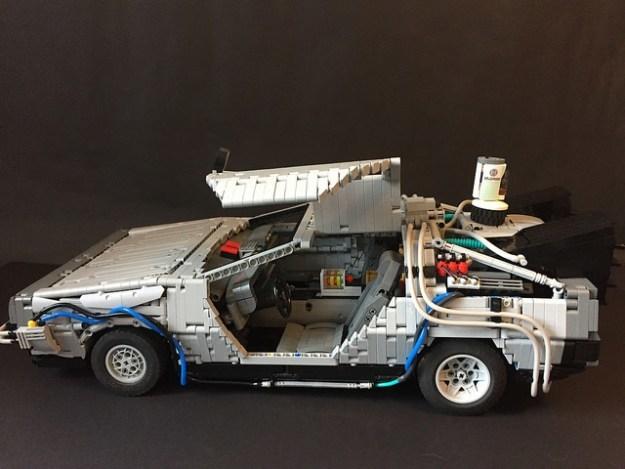 DeLorean DMC-12 Delorean, LEGO, Назад в будущее, Фотография, Длиннопост