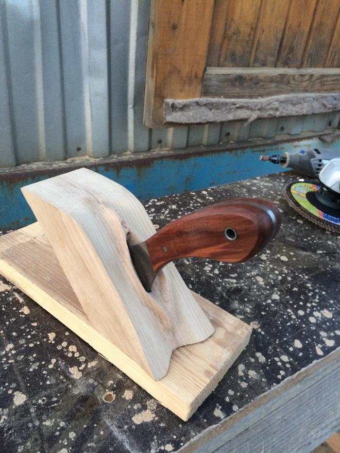 Подставка под нож для работы с кожей. Резьба по дереву, Подставка, Кожевенное ремесло, Дремель, Вагина, Длиннопост