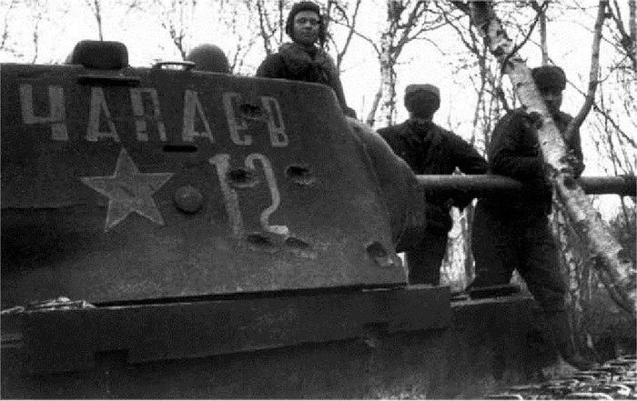 КВ-1 *Чапаев* Танки, Великая Отечественная война, Чапаев, Кв-1, Вторая мировая война