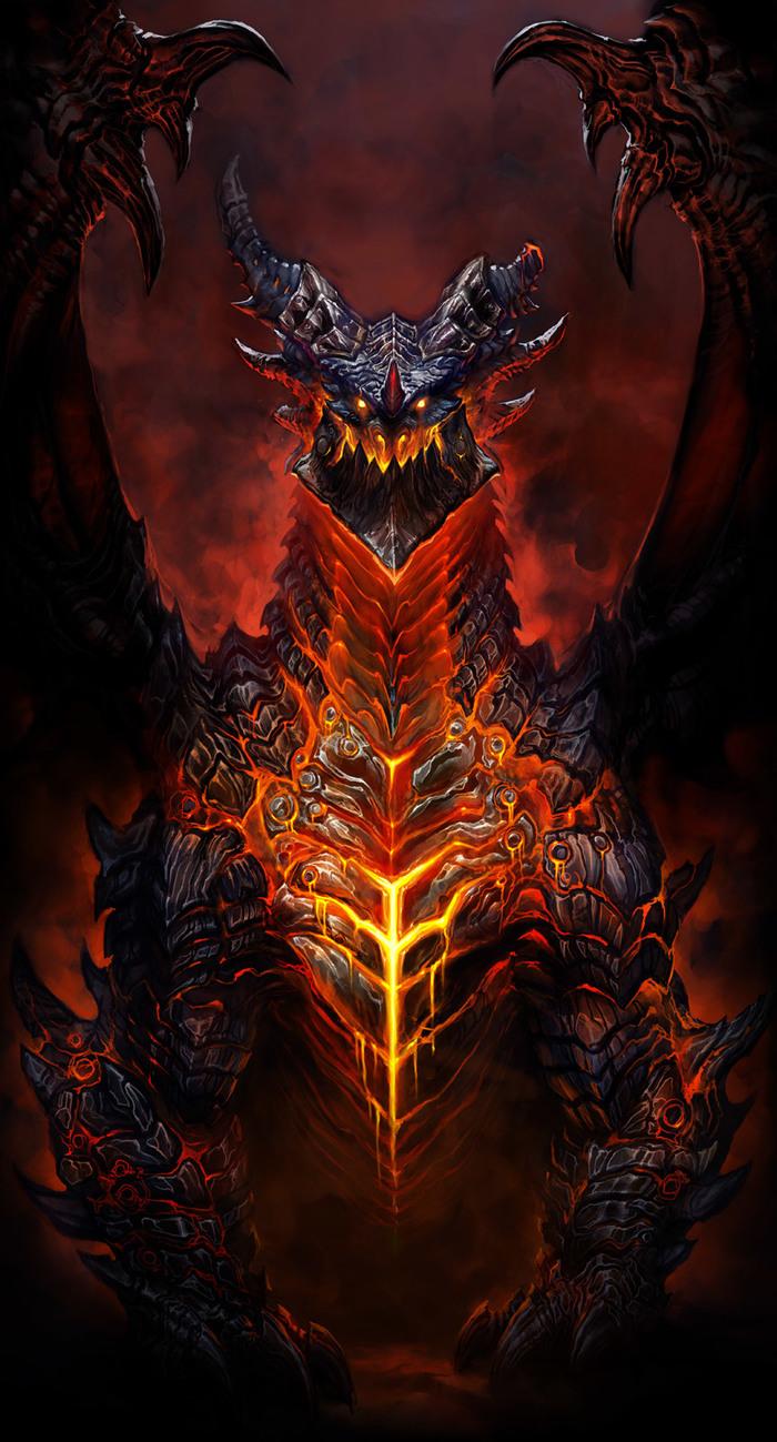 Вкратце о Смертокрыле Длиннопост, World of Warcraft, Бестиарий Баюна, Смертокрыл