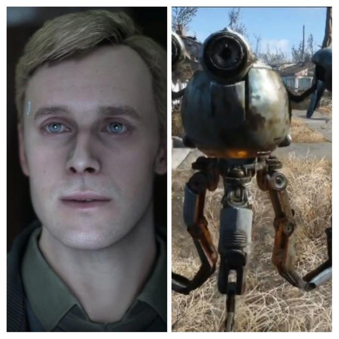 Detroit BH vs Fallout 4 Detroit: Become Human, Fallout, Fallout 4, Длиннопост