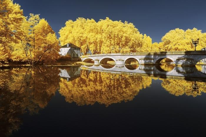 Инфракрасные фотографии Франции фотографаПьера-Луи Феррера Франция, Инфракрасная съёмка, Длиннопост