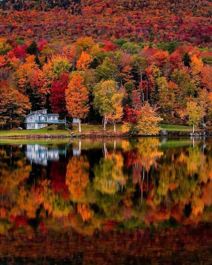 Осень в Вермонте