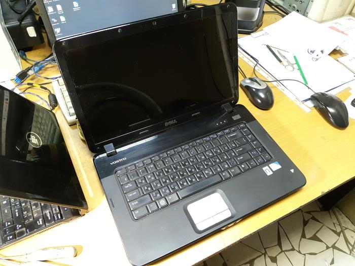 Разборка (неполная) ноутбука Dell vostro PP37L Длиннопост, Разборка девайса, Мануалы, Ноутбук
