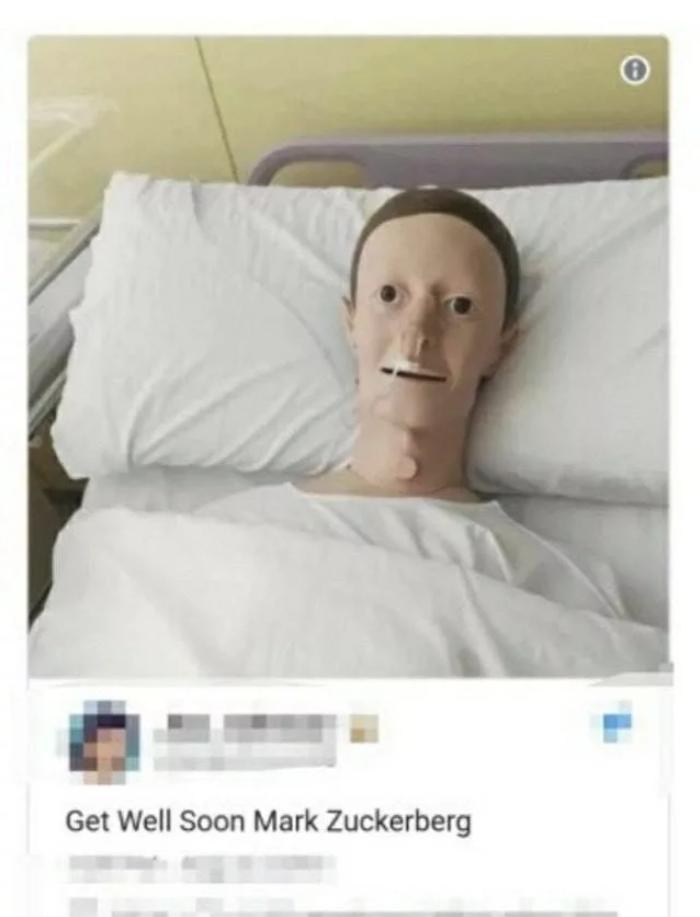 Марк Цукерберг заболел. Марк Цукерберг, Шутка, Интернет