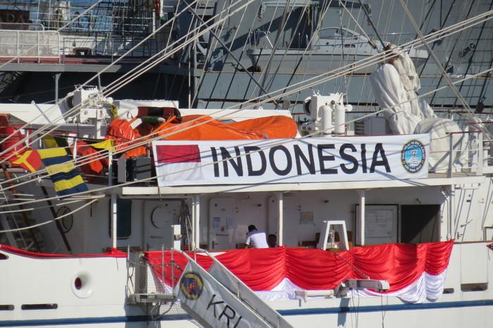 """Парусник """"BIMA SUCI"""" Парусник, Индонезия, BIMA SUCI, Длиннопост"""