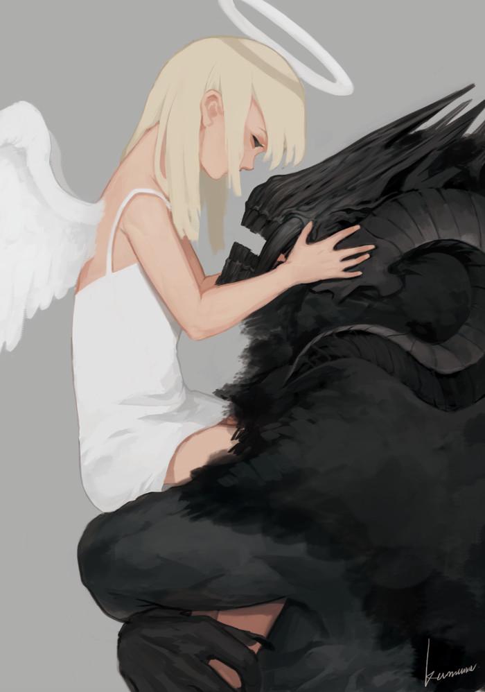 Black and White Арт, Рисунок, Tumblr