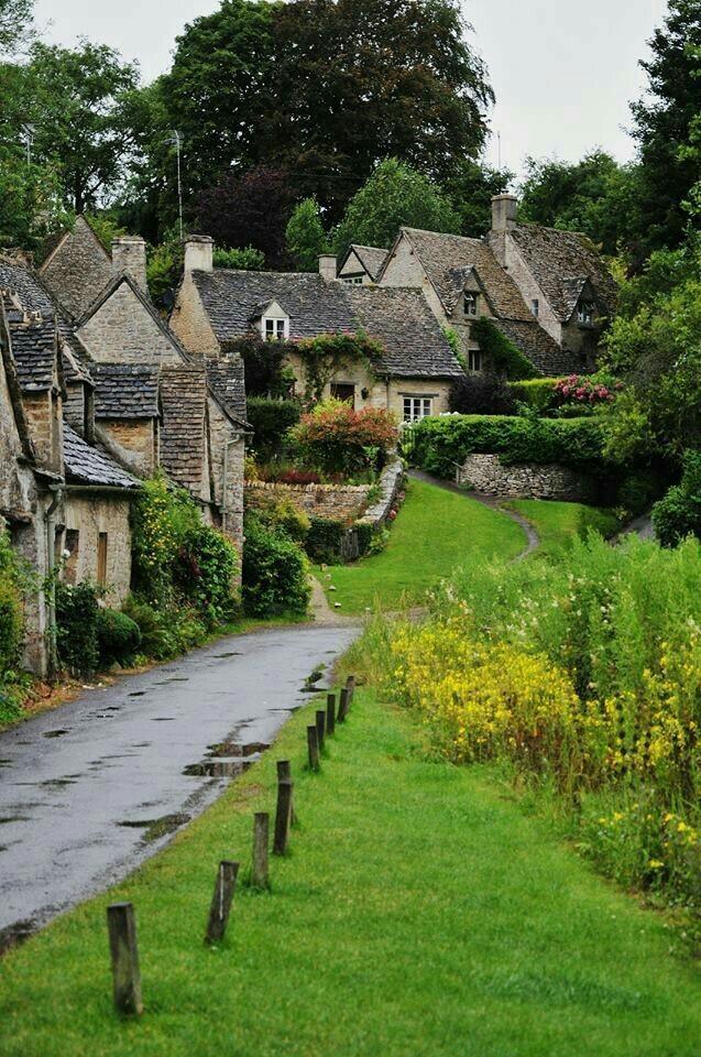 Милая деревенька Бибери входит в топ-10 лучших деревень Англии! Природа, Красота природы, Дикая природа, Англия, Интересное, Красота, Деревня, Фотография, Длиннопост