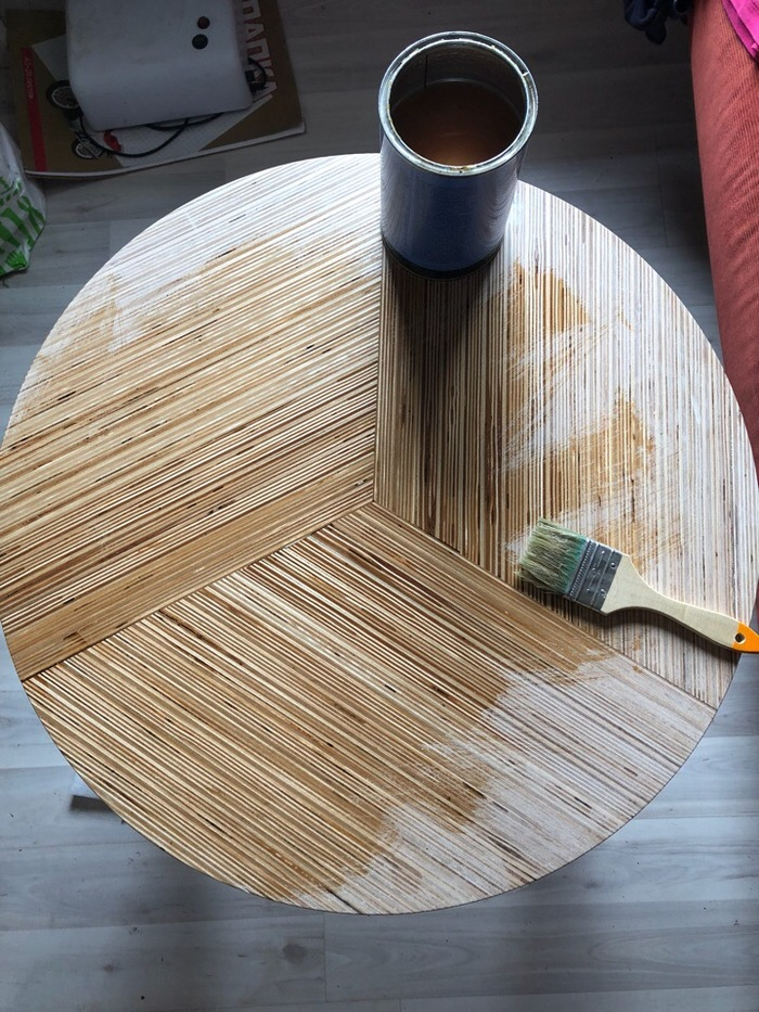 Кофейный столик из фанеры Фанера, Столярка, Стол, Своими руками, Видео, Длиннопост