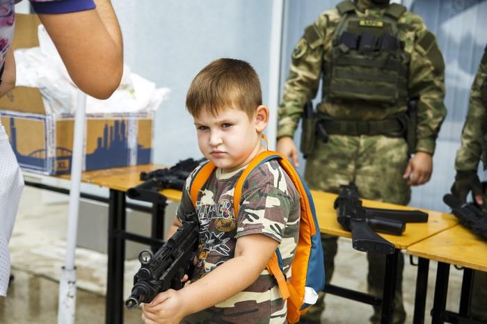 Суровое детство Страйкбол, Дети, Благодарность, Оружие, Харизма