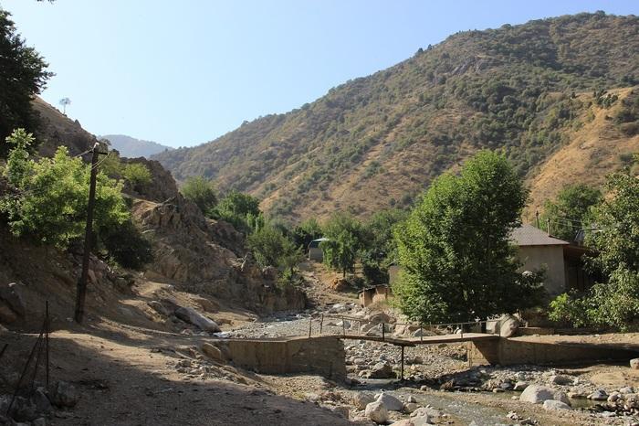 "Поход в ""Чертово ущелье"" Река, Водопад, Поход, Таджикистан, Длиннопост"