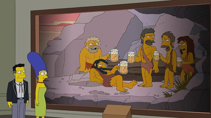 Симпсоны всё знали. Симпсоны, Пиво