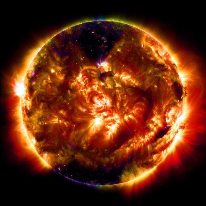 Удивительный космос: 5 снимков NASA Популярная механика, Космос, Телескоп Хаббл, SDO, Фотография, Длиннопост