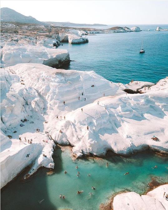 Пляж Саракинико, Греция